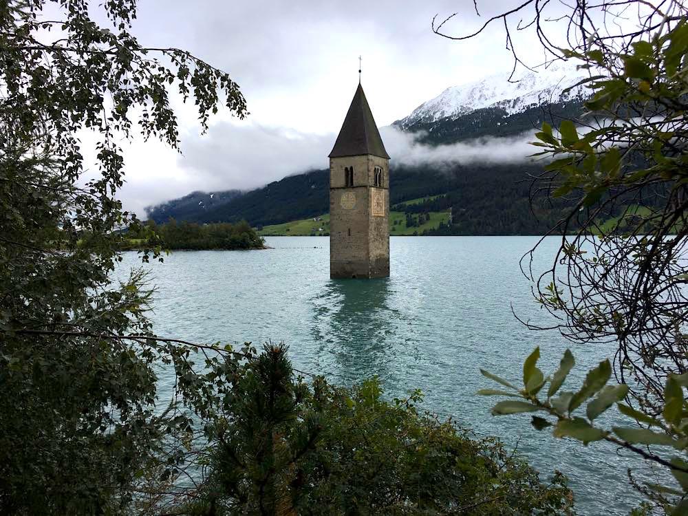 Reschensee Südtirol Wandern