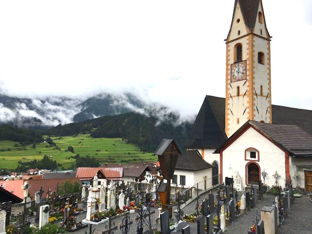 Nauders Tirol Reschenpass