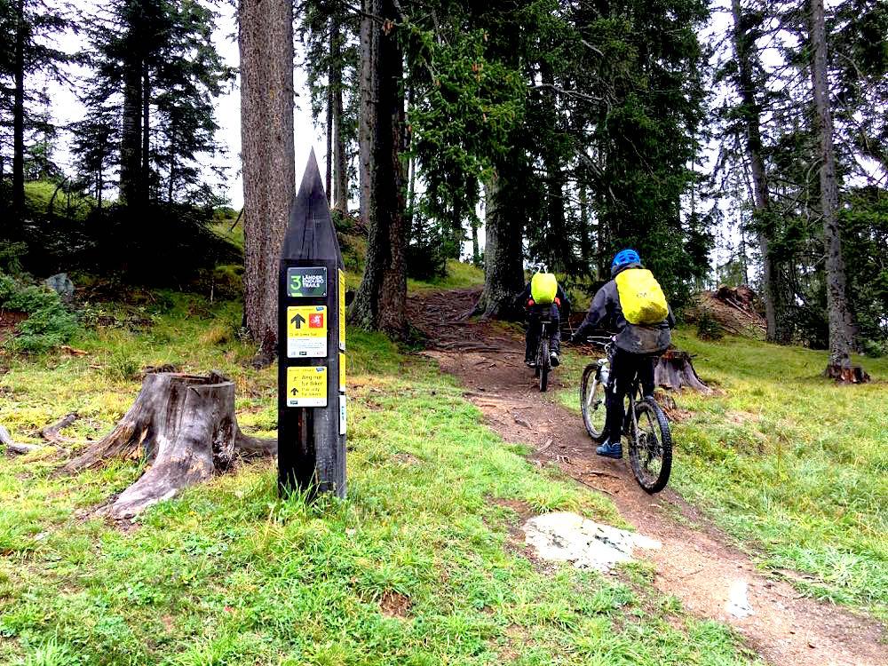 Nauders Reschenpass Tirol Mountainbike MTB
