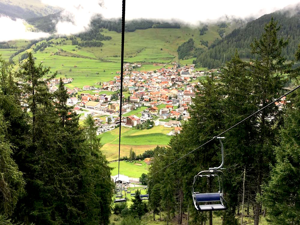 Nauders Reschenpass Tirol Wandern Wellness