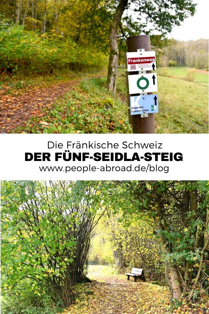 Werbung / Der 5-Seidla-Steig in der Fränkischen Schweiz #Reiseinspirationen #Wandern #Deutschland #Bayern #Reise