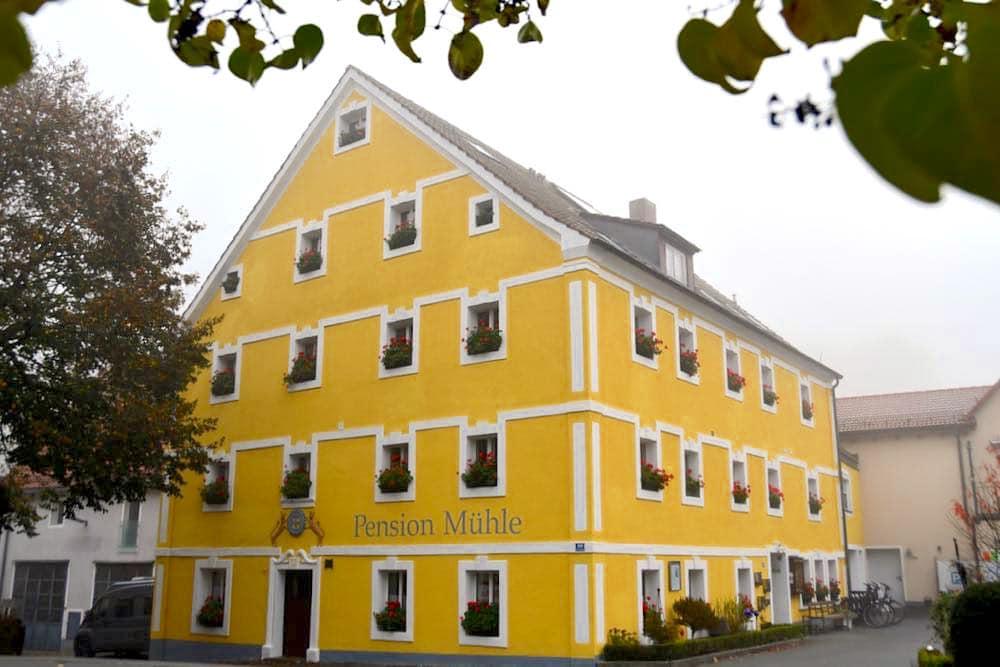 Pension Mühle Egloffstein Fränkische Schweiz Übernachten