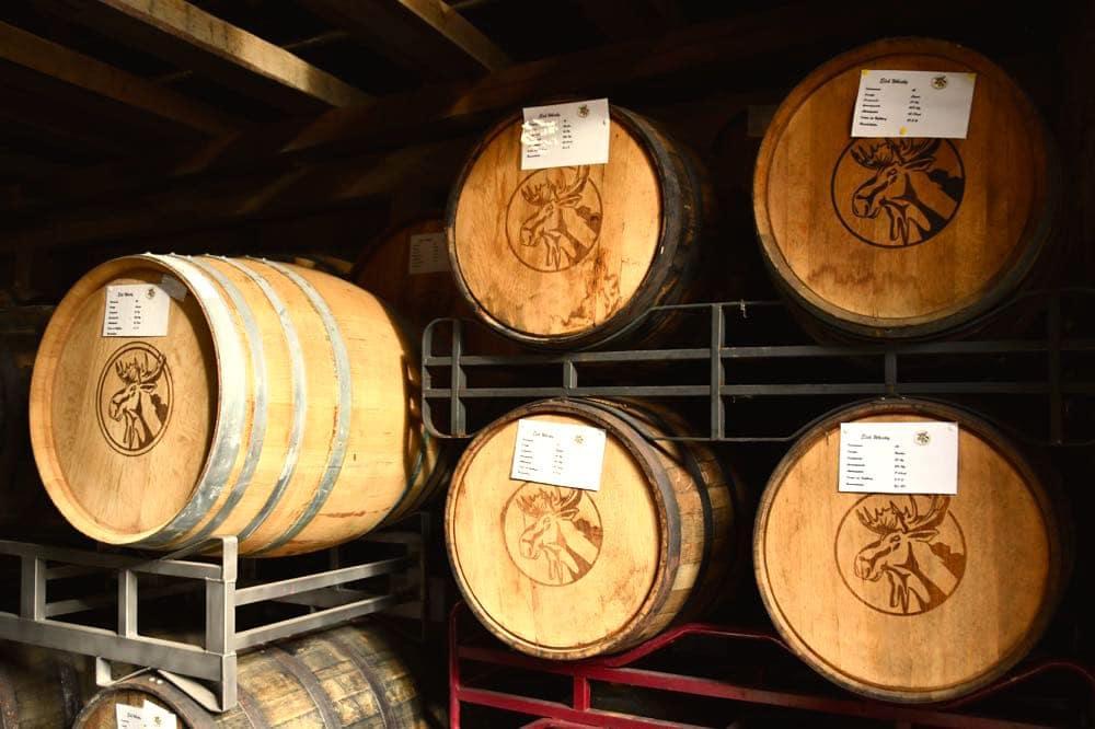 Elch-Whiskey Thuisbrunn