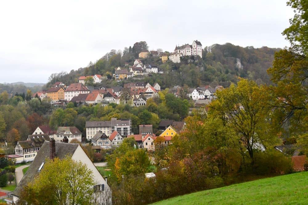 Egloffstein Fränkische Schweiz Wandern