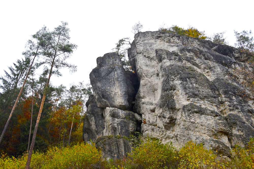 Fränkische Schweiz Klettern Trubachtal