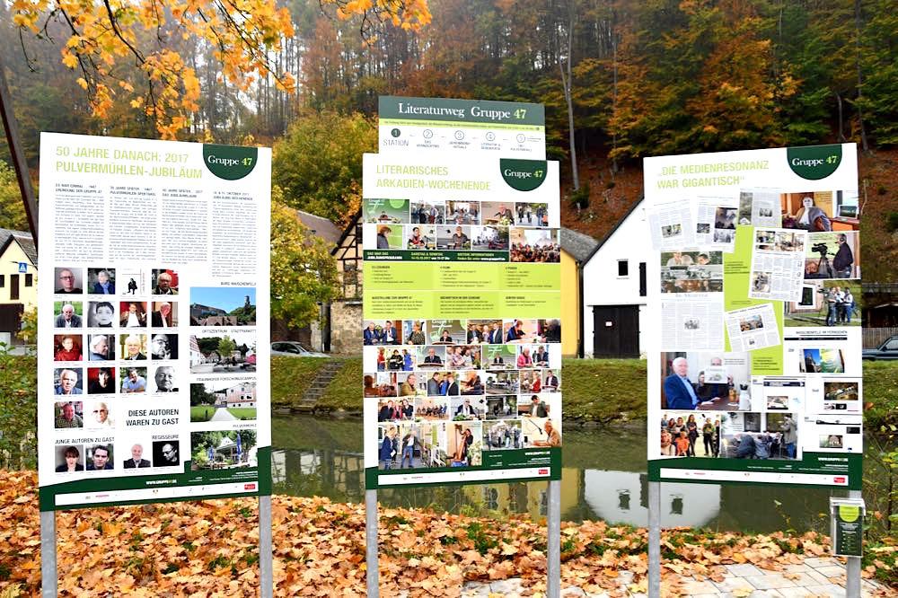 Waischenfeld Literaturweg Gruppe 47
