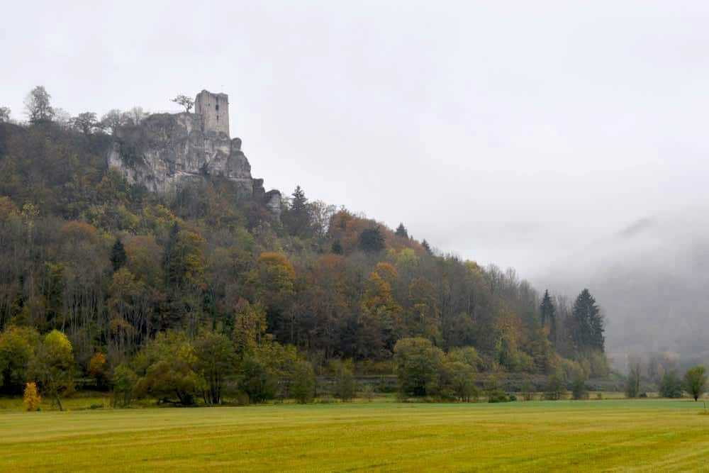 Fränkische Schweiz Burgen Burgruine Neideck