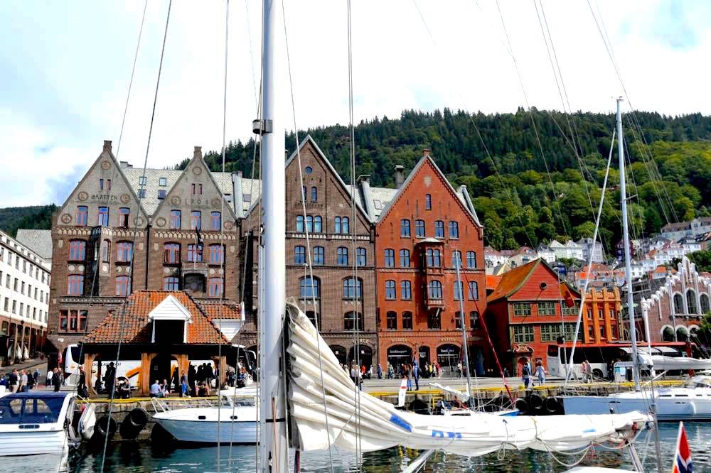 Bergen: Das Tor zu den Fjorden in Norwegen