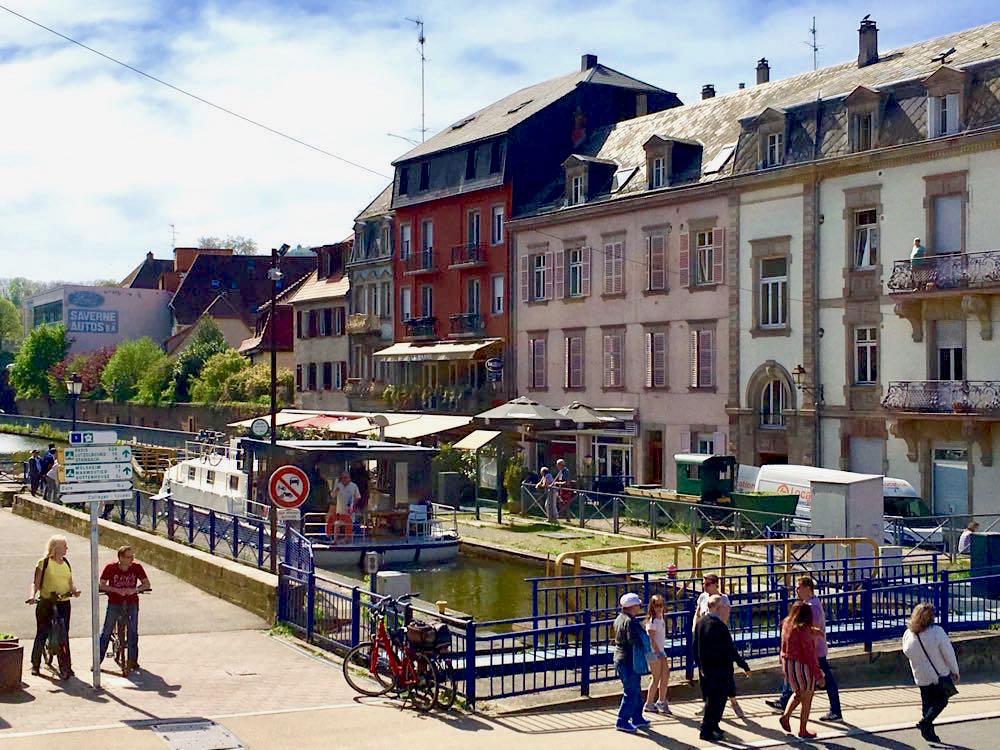 saverne elsass frankreich 20 - Saverne am Rhein-Marne-Kanal im Elsass