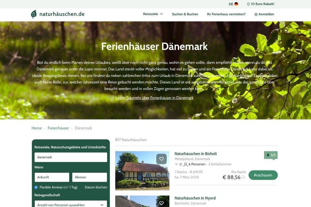 naturhaeuschen ferienhaus daenemark 6 - Naturhäuschen: Dänemark-Urlaub im Ferienhaus