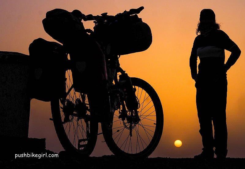 heike pirngruber tourenrad bikepacking 10 - Pushbikegirl: Radreisen mit dem Tourenrad