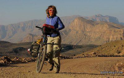 Pushbikegirl: Radreisen mit dem Tourenrad