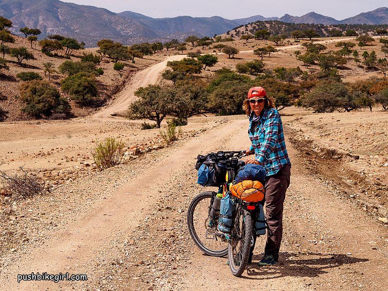 heike pirngruber tourenrad bikepacking 6 - Pushbikegirl: Radreisen mit dem Tourenrad