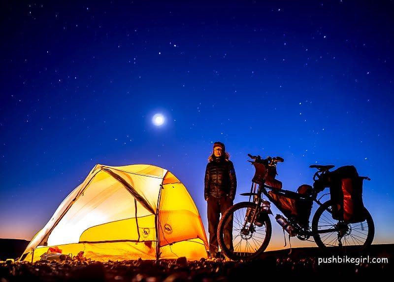 pushbikegirl heike pirngruber tourenrad bikepacking 1 - Pushbikegirl: Radreisen mit dem Tourenrad