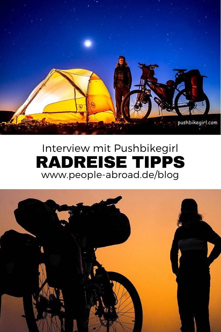 01.07.2019 - Pushbikegirl: Radreisen mit dem Tourenrad