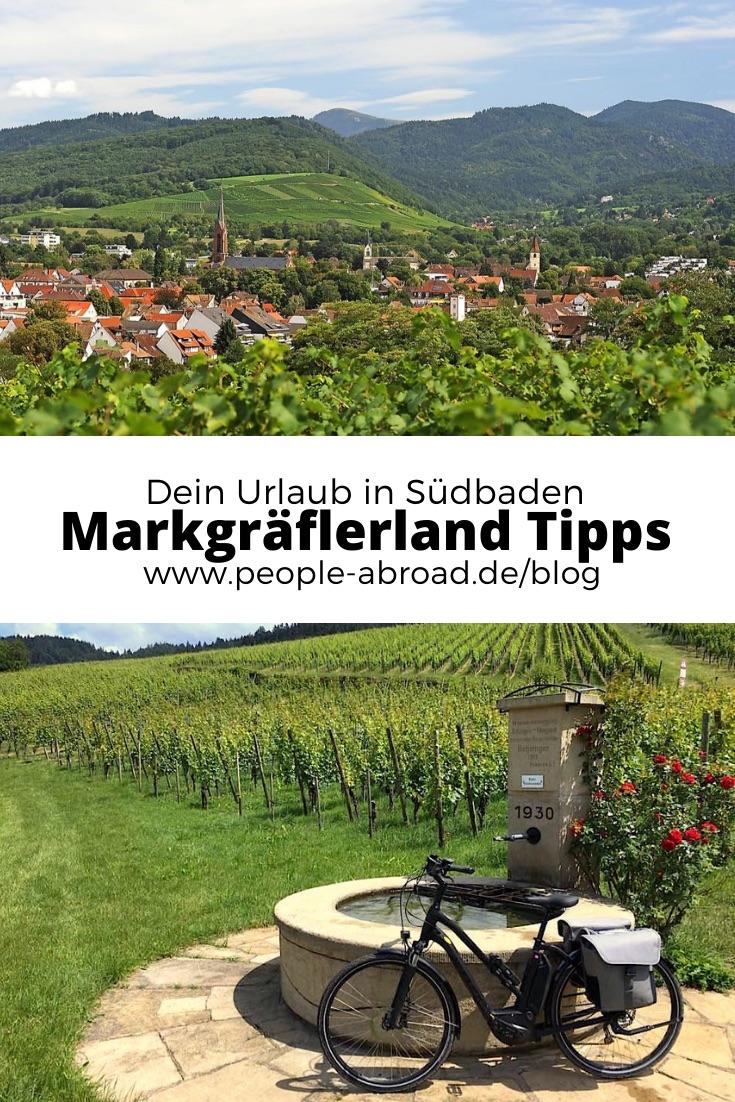 markgraeflerland - Markgräflerland: Weinberge, Natur und Kultur