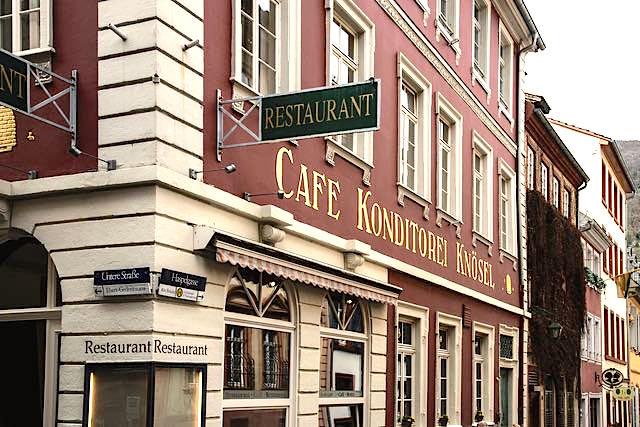 cafes heidelberg cafe knoesel - Cafés in Heidelberg & Tipps zu Coffee Bars