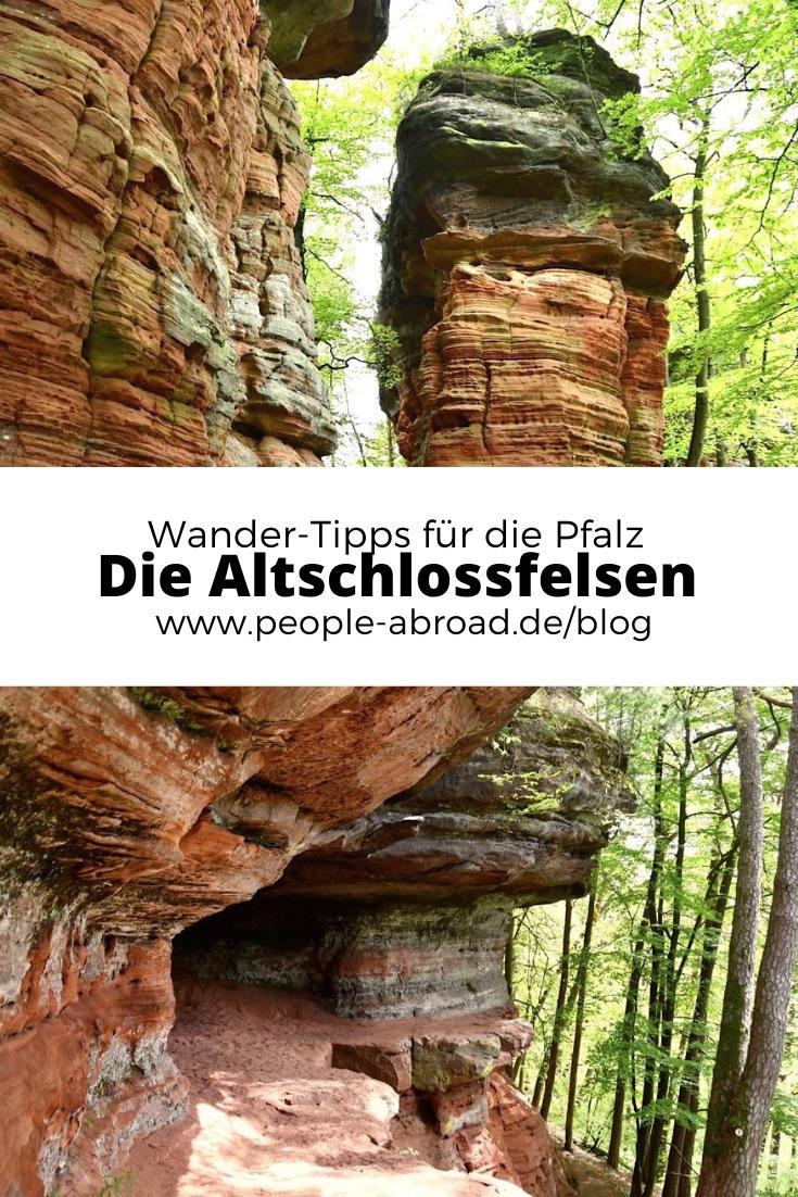 altschlossfelsen wandern pfalz - Altschlossfelsen: Wandern auf dem Altschlosspfad