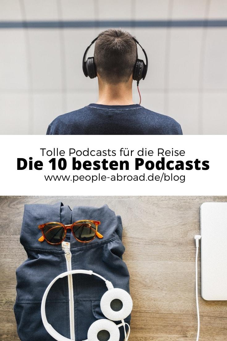 beste podcasts charts - Die 10 besten Podcasts für Reisen und unterwegs