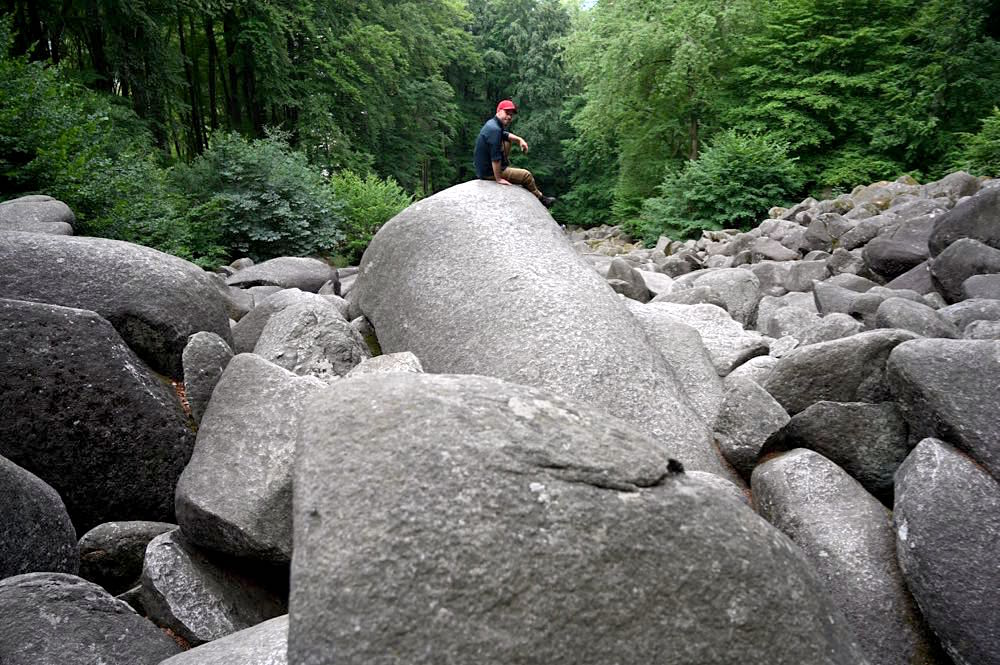 felsenmeer odenwald 12 - Das Felsenmeer in Lautertal im Odenwald