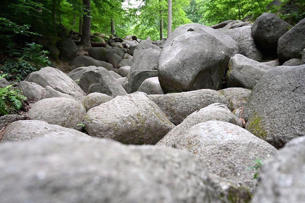 felsenmeer odenwald 3 - Das Felsenmeer in Lautertal im Odenwald
