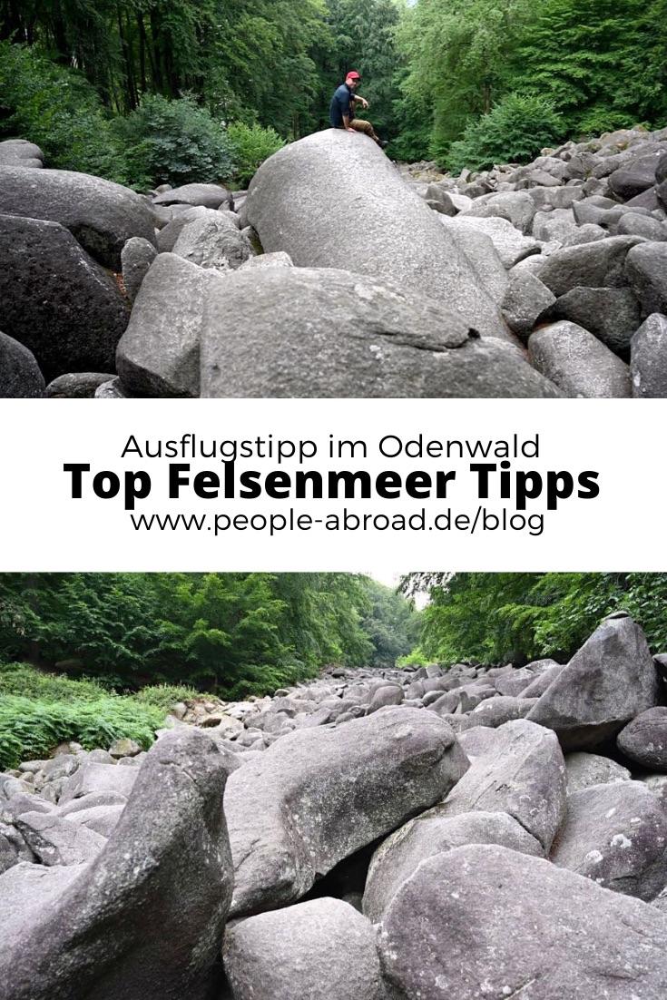 felsenmeer odenwald - Das Felsenmeer in Lautertal im Odenwald