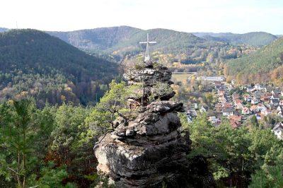 Wanderung auf der Geiersteine-Tour
