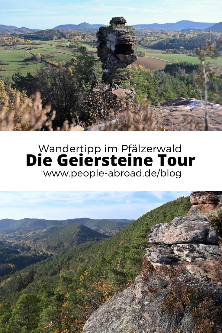 geiersteine tour - Geiersteine: Wanderung auf der Geiersteine-Tour