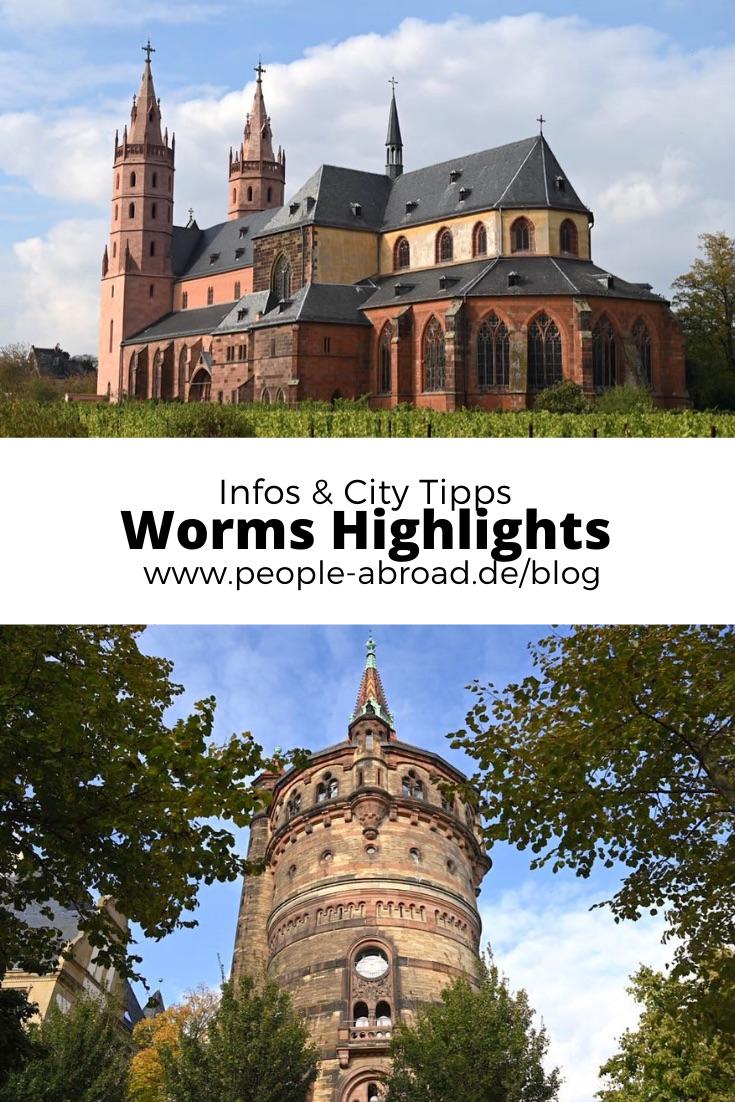 worms sehenswuerdigkeiten - Worms: Sehenswürdigkeiten, Highlights & Tipps