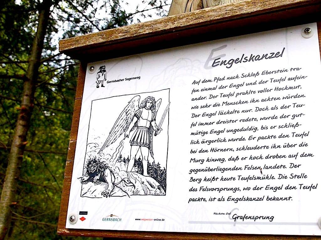gernsbacher sagenweg murgtal wandern 3 - Gernsbacher Sagenweg im Schwarzwald