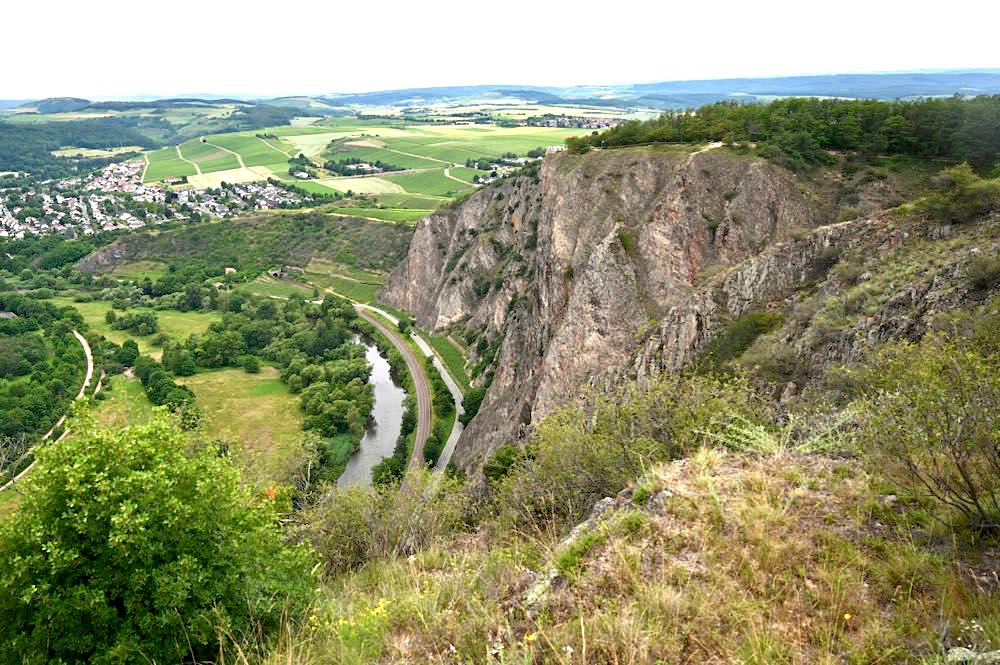 rotenfels rheingrafenstein nahe wandern 10 - Rotenfels & Rheingrafenstein - Wandern im Nahetal