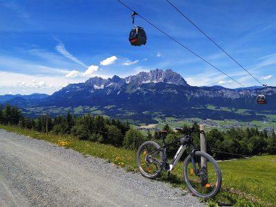 Kitzbüheler Alpen: Mountainbiken in Tirol