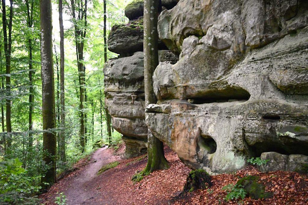 muellerthal luxemburgische schweiz 17 1024x681 - Müllerthal: Wandern in der luxemburgischen Schweiz